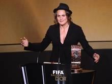 Nadine Angerer kann erneut zur Weltfußballerin des Jahres gewählt werden. Foto: Patrick Seeger