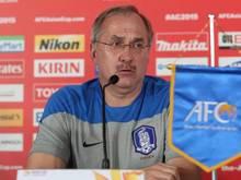 Uli Stielike will mit Südkorea den Asien-Cup gewinnen