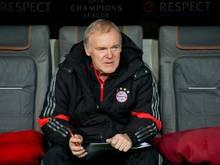 Hermann Gerland ist beim FCBayern Co-Trainer. Foto: Sven Hoppe