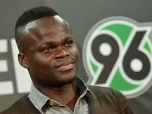 Didier Ya Konan hat bislang bei Hannover 96 nur individuell trainiert