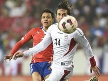 Andranik Teymourian (r.) ist der neue Kapitän der iranischen Nationalmannschaft