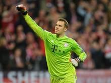 Bayern-Keeper Torwart Manuel Neuer muss keine Gelbsperre im nächsten Spiel befürchten