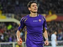 Mario Gomez will mit der Fiorentina in das Finale der Europa League
