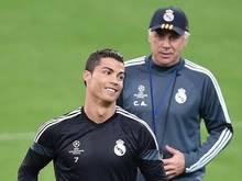 Cristiano Ronaldo versteht sich mit Carlo Ancelotti