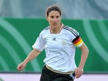 Birgit Prinz teilt sich den Platz als Europas Rekordspielerin (214 Länderspiele) nun mit Therese Sjögran