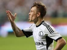 Jakub Kosecki trägt jetzt das Trikot des SV Sandhausen