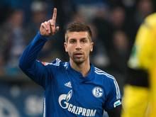 Schalkes Matija Nastasić ist von Coach André Breitenreiter begeistert