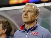 Jürgen Klinsmann ist der Trainer der US-Nationalmannschaft