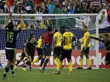 Jamaika musste sich im Finale Mexiko mit 1:3 geschlagen geben