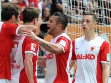 Raul Bobadilla (M.) traf doppelt gegen Toulouse