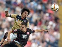 Eintracht Frankfurt besiegte den FC Tokyo mit 2:1