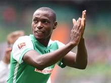 Erzielte gegen West Ham United beide Werder-Tore: Anthony Ujah