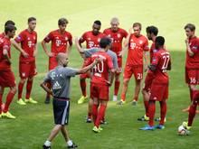 Der FC Bayern trifft in der Champions League neben Olympiakos Piräus und Dinamo Zagreb auf den FC Arsenal. Foto: Andreas Gebert