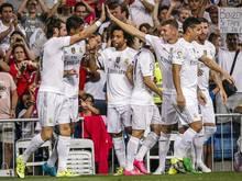 Real Madrid besiegte Betis Sevilla klar mit 5:0.