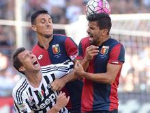 Mario Mandzukic verletzte sich im Spiel gegen Genua