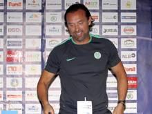 Thomas Doll ist glücklich bei Ferencváros