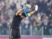 Gianluigi Buffon ist seit gestern alleiniger Rekordspieler bei Juventus Turin