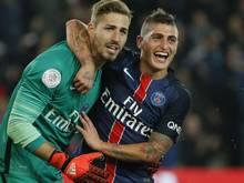 Kevin Trapp bleibt mit PSG nach dem 5:0-Sieg gegen den FC Toulouse weiterhin einsam an der Tabellenspitze