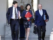 Patrick Kanner (l.) ist Frankreichs Sportminister