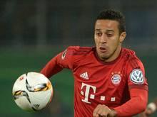 Münchens Thiago peilt nach seiner Knie-Verletzung ein Comeback noch in diesemJahr an