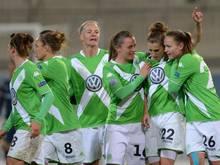 Die Wolfsburgerinnen haben das Halbfinale des DFB-Pokals erreicht.