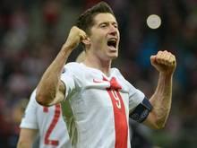 Robert Lewandowski ist der Star der polnischen Mannschaft