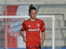 Melanie Leupolz erzielte beim 3:1-Erfolg gegen Hoffenheim einen Treffer