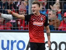 Maximilian Philipp schoss die Freiburger mit 1:0 in Führung