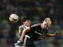 Andreas Beck und Besiktas Istanbul stehen im Pokal-Achtelfinale