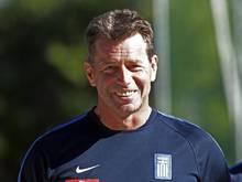Michael Skibbe ist seit Oktober 2015 griechischer Nationaltrainer