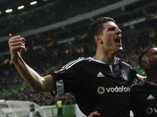 Mario Gomez hat mit Beşiktaş das Viertelfinale im türkischen Pokal erreicht