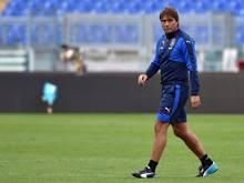Antonio Conte ist der Trainer der italienischen Fußball-Nationalmannschaft