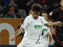 Jan Moravek wurde vom FC Augsburg für den Kader in der Europa League benannt