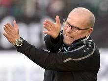 Thomas Schaaf übernahm Hannover in der Winterpause