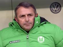 Wolfsburgs Manager Klaus Allofs ist von der Heftigkeit der VfL-Krise überrascht