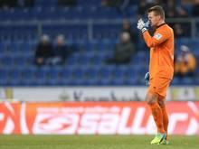 Auch Duisburgs Torwart Michael Ratajczak war nach der 1:2-Niederlage in Bielefeld bedient