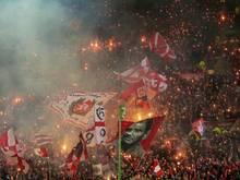 Kaiserslauterns Fans droht ein Teilausschluss, wenn sie erneut randalieren
