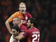 Galatasaray Istanbul gewann beim Ligakonkurrenten Akhisar Belediyespor mit 2:1