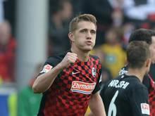 Nils Petersen könnte gegen Fortuna Düsseldorf schon wieder spielen