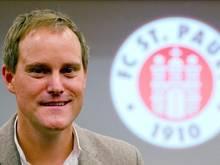 Oke Göttlich, Präsident des FC St. Pauli, kritisiert die mögliche Reform zur Neuverteilung der TV-Gelder
