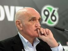 Martin Kind muss mit Hannover in die 2. Liga