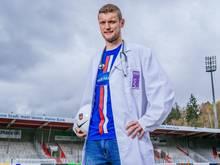 Ausgerechnet der Arzt im Heidenheimer Team, Tim Göhlert, fällt krank aus
