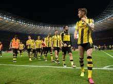 Wieder Finale, wieder kein Pokal: Die Dortmunder verloren vier Finals in Folge