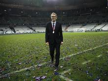 Laurent Blanc verlässt nach dem Cupsieg den Platz - und bald auch PSG?