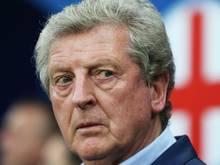 Roy Hodgson hat nach seinem Statement nichts mehr mitzuteilen. Foto: Oliver Weiken