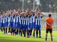 Bei Hertha BSC hat die Saisonvorbereitung begonnen