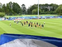 Das Centre National du Football (CNF) ist ein 56 Hektar großes Areal, mitten in einem riesigen Waldgebiet