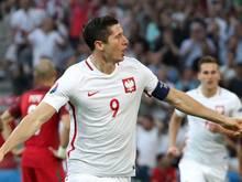 Robert Lewandowskis Treffer gegen Portugal fiel bereits nach 1:40 Minuten