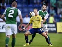 Brøndby IF setzte sich gegen Hibernian Edinburgh durch