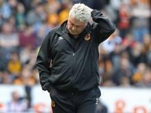 Steve Bruce ist nicht mehr Trainer von Hull City